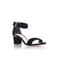 Carvela - Black 'Krisp' mid heel sandal