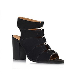Carvela - Black 'Klam' high heel sandals
