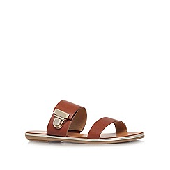 Carvela - Tan 'Kall' flat sandals