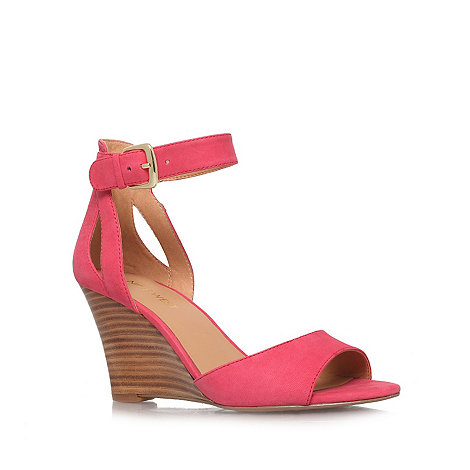 Nine West - Pink +Floyd+ high heel wedge sandals