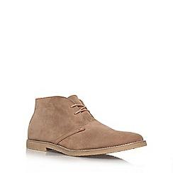 KG Kurt Geiger - Tan 'Bedford' flat boots