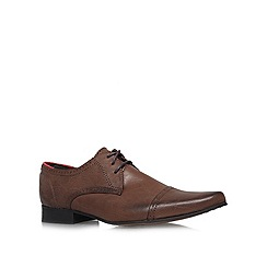 KG Kurt Geiger - Brown 'Grayes' Flat Formal Shoes