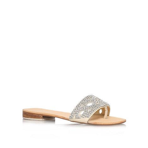 Carvela - Nude +Bethan+ flat sandals