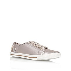 Carvela - Silver 'Last' low top trainers