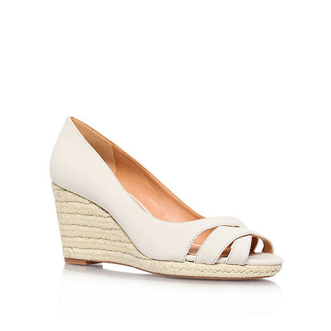 Nine West - Beige +jelica7+ mid heeled wedge