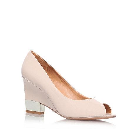 Nine West - Nude +Jillianne3+ mid heel court shoes