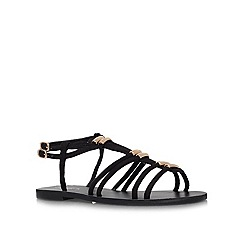 Carvela - Black 'Kit' Flat Sandals