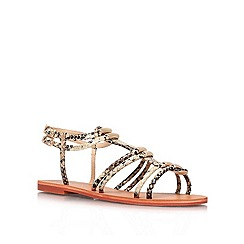 Carvela - Beige 'Kit' flat sandals