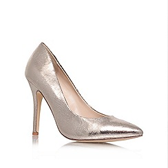 Carvela - Silver 'Apollo' high heel court shoes