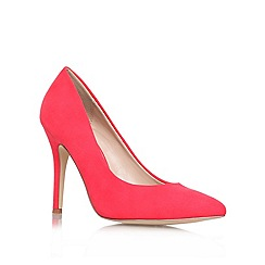 Carvela - Orange 'Apollo' high heel court shoes