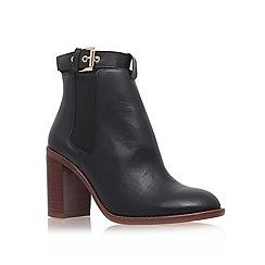 KG Kurt Geiger - Black 'Sebastien' high heel chelsea boots