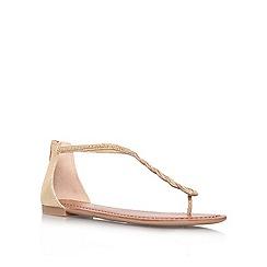 Jessica Simpson - Gold 'Glesener' flat sandals