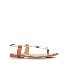 Nine West - White 'Fabiola3' flat sandals
