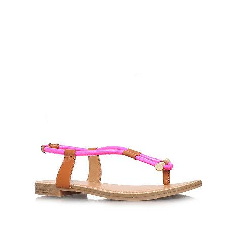 Nine West - Pink +Fabiola3+ flat sandals