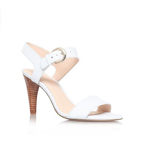 Nine West - White +Marybeth+ high heel sandals