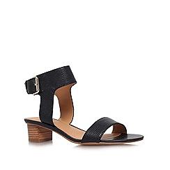 Nine West - Black 'Tasha' low heeled sandals
