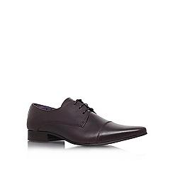 KG Kurt Geiger - Brown 'Raymond' flat lace-up shoes