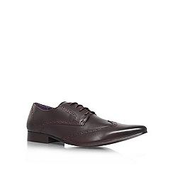 KG Kurt Geiger - Brown 'Jake' derby formal shoes