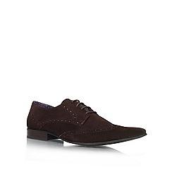 KG Kurt Geiger - Brown 'Jake' flat derby shoes