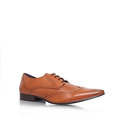 KG Kurt Geiger - Tan 'Jake' derby formal shoes