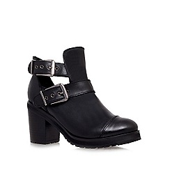 Miss KG - Black 'Tilly' mid heel ankle boots