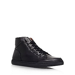 KG Kurt Geiger - Black 'Brickers' Leather lace up