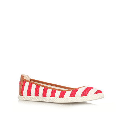 Nine West - Red +Royalli2+ flat espadrille shoes