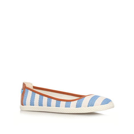 Nine West - Blue +Royalli2+ flat espadrille shoes