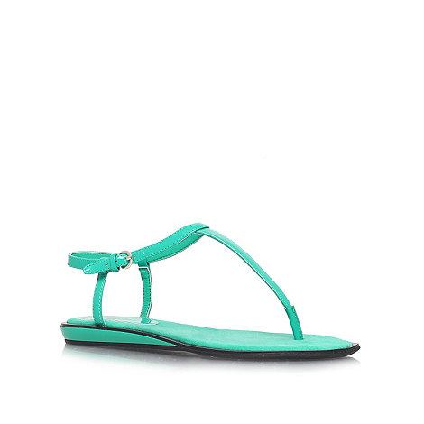 Nine West - Green +Venga3+ flat sandals