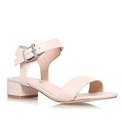 Miss KG - Nude 'Pamela' low heeled sandal