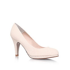 Carvela - Cream 'Alas' high heel court shoes