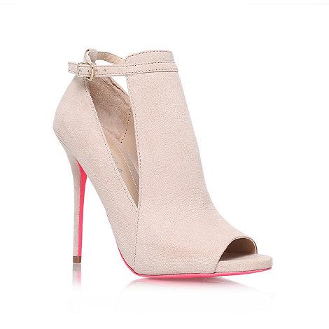 Carvela - Pink +glance+ high heel court shoes