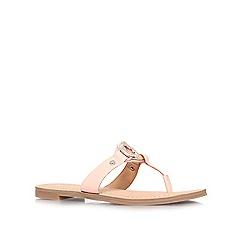 Nine West - Pink 'Sibeal' flat flip flops