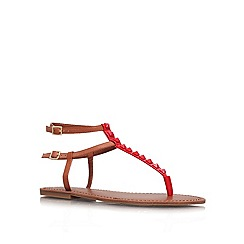 Jessica Simpson - Red 'Kabii' flat sandals