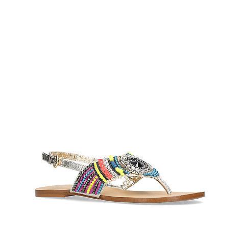 Carvela - Multi-coloured +Brazil+ flat sandals