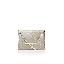 Nine West - Gold 'Edelyn envelope' clutch bag