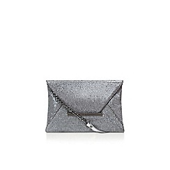 Nine West - Pewter 'Edelyn' envelope clutch bag