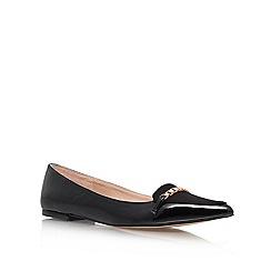 Carvela - Black 'Lola' Flat Court Shoes