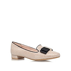 Carvela - Gold 'Lacey' Flat Loafers