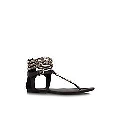 KG Kurt Geiger - Brown 'Nadia' flat sandal