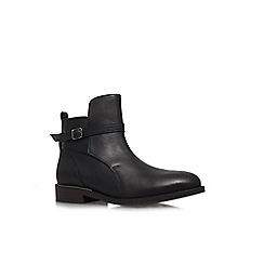 KG Kurt Geiger - Black 'Salma' low heel boots