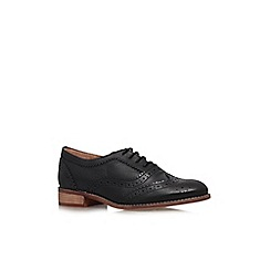 KG Kurt Geiger - Black 'Lily' low heel brogues