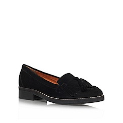 KG Kurt Geiger - Black 'Lawson' low heel loafers