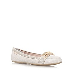 Carvela - Cream 'Liberate' flat slip on shoe