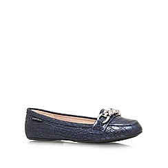 Carvela - Blue 'Liberate' Flat Court Shoes