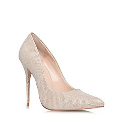 Carvela - Nude 'Gallery' high heel courts