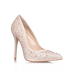 Carvela - Pink 'Gemini' high heel courts