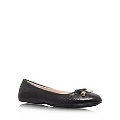Carvela - Black 'Lamp' Flat Ballerinas