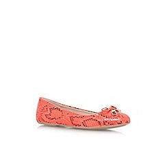 Carvela - Orange 'Lamp' flat slip on pump