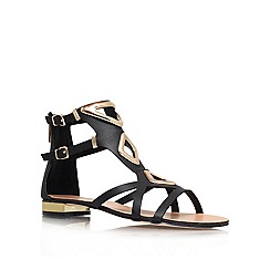 Carvela - Black 'Kupid' flat sandals